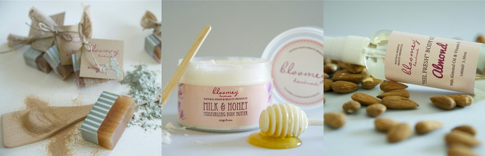 Bloomey Handmade-Natural Soaps & Beauty Products