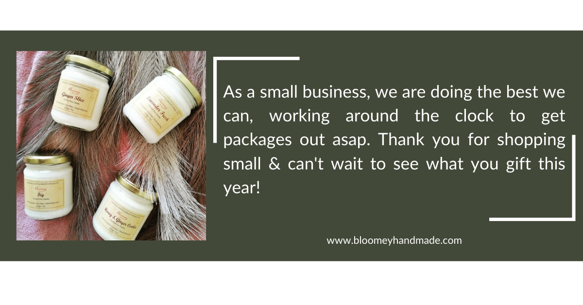 Bloomey Handmade-Fresh Natural Soaps, Beauty Products & Home Fragrances