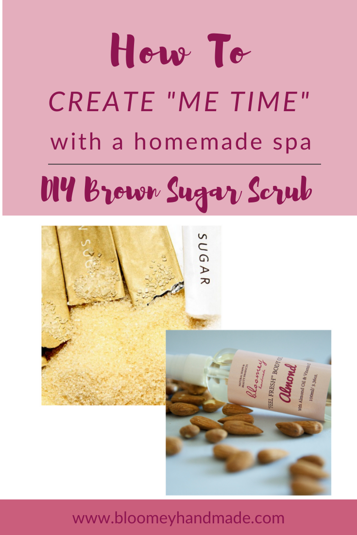 Pamper yourself with a home spa experience: DIY Sugar Body Scrub