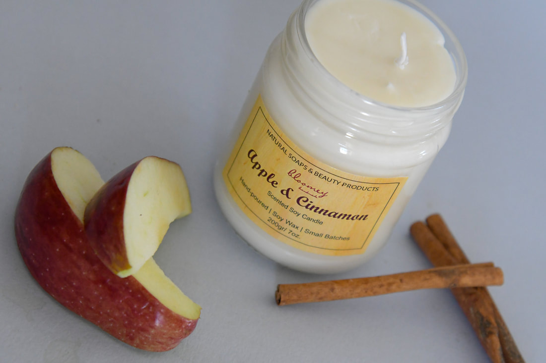 Apple Spice Soy Candle, Apple Soy Wax Candle, Cinnamon Candle, Winter Candle, Spicy Scented Candle, Holiday Candle, Housewarming Gift, Vegan