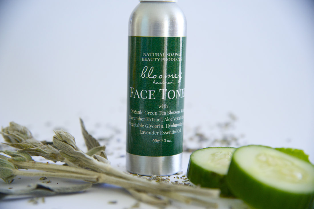 Face Toner with Green Tea, Hyaluronic Acid & Lavender Essential Oil