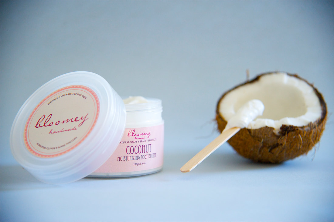 Coconut Body Butter, Coconut Body Cream, Whipped Body Butter, Organic Body Moisturizer, Coconut Body Cream, Organic Skin Care, Body Care,Summer essentials for a silky soft & refreshed skin!