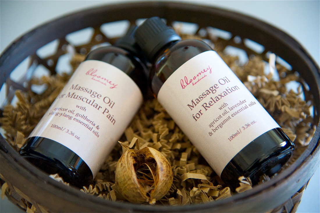 Bloomey Handmade-Healing Massage Oils